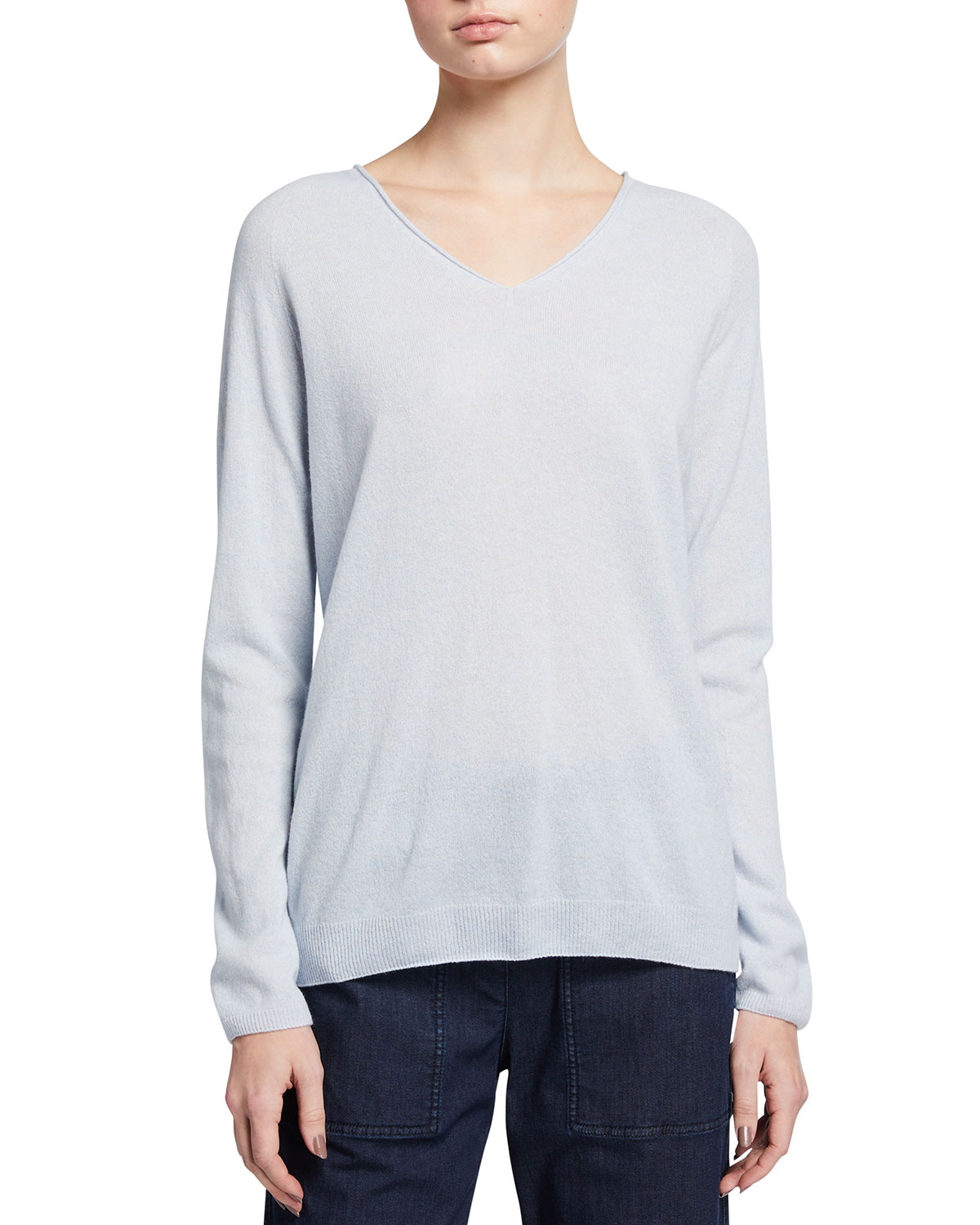 Max Mara Wools WOOL-BLEND V-NECK SWEATER