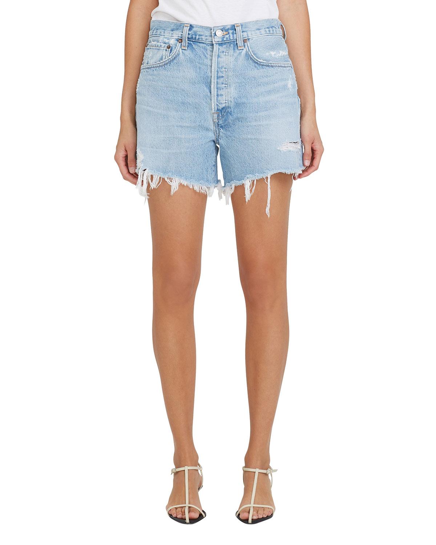 Parker Long Frayed Shorts