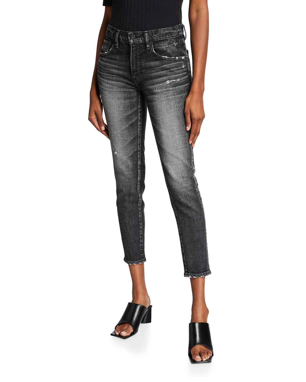 Moussy Vintage Jeans PRICHARD CROPPED SKINNY JEANS