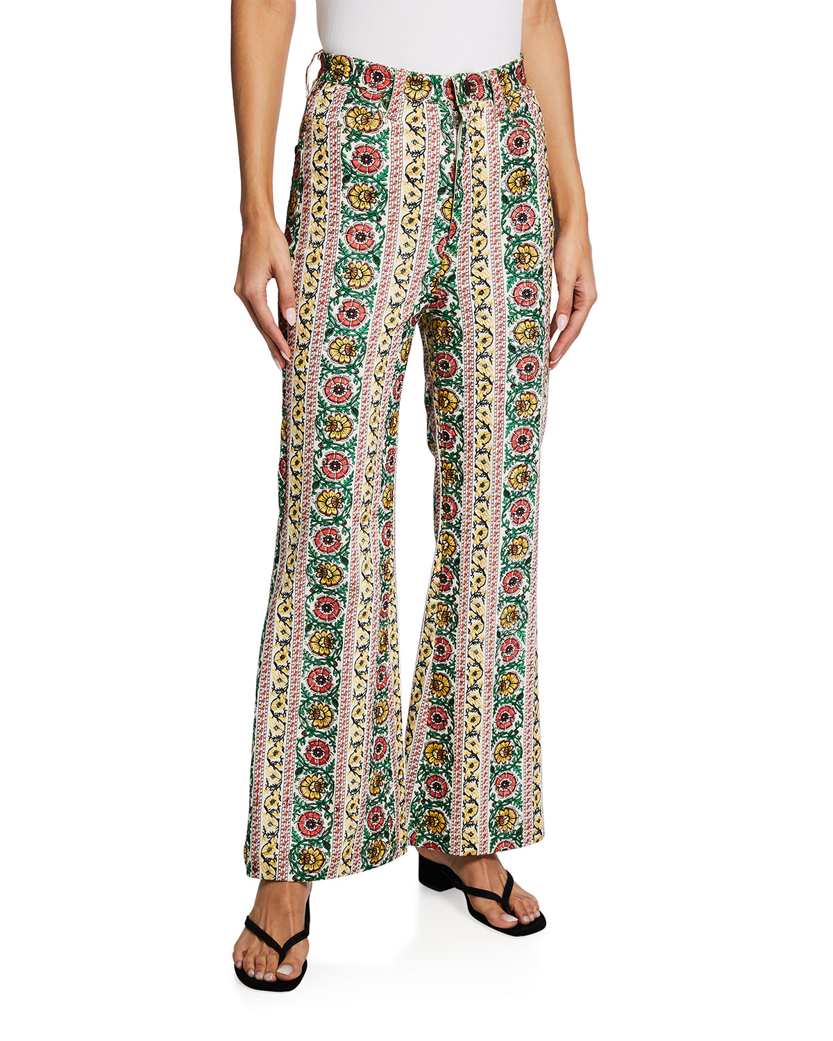 Benedict High-Waist Exaggerated Flare Jeans