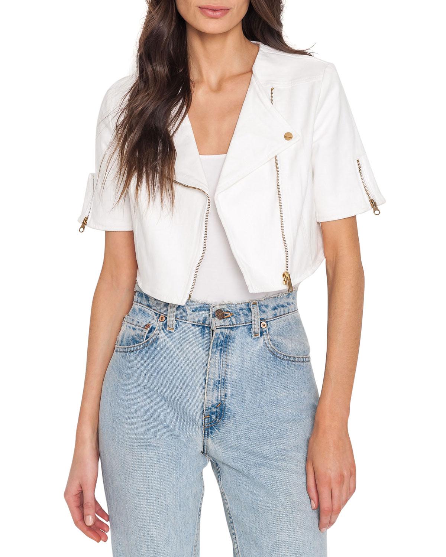 Kirsi Cropped Denim Jacket