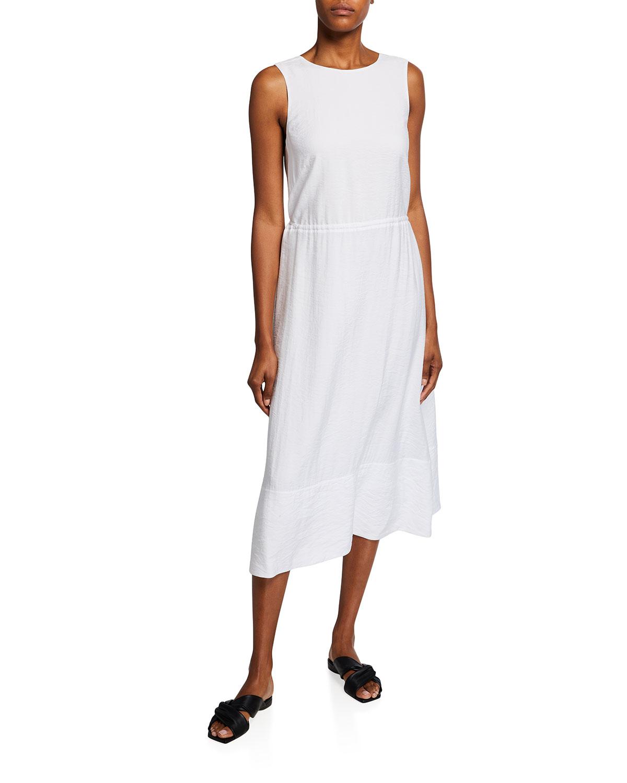 Sleeveless Cross-Back Dress