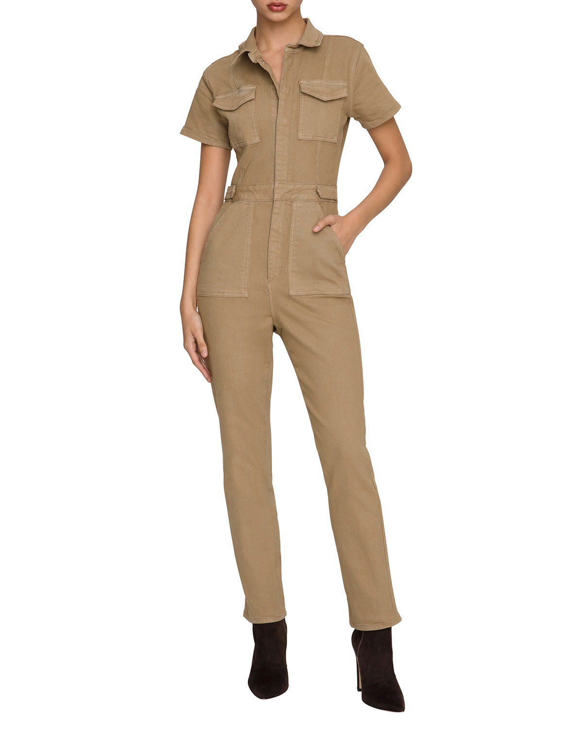 Good American Jumpsuits FIT FOR SUCCESS JUMPSUIT - INCLUSIVE SIZING