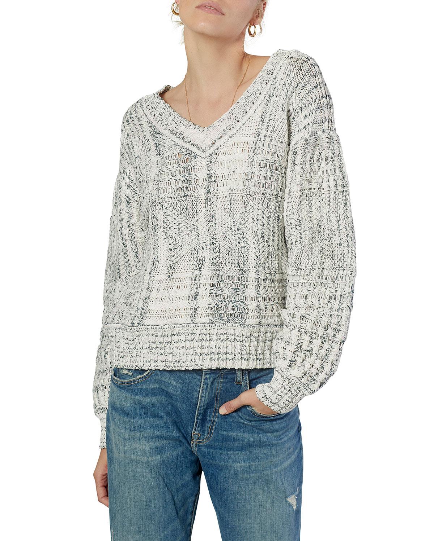 Sydnee Cotton V-neck Sweater