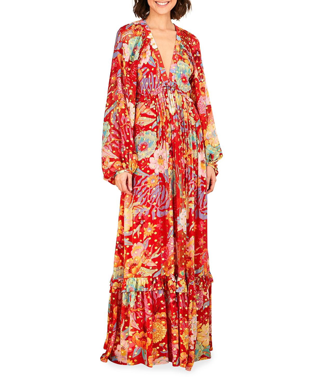 Farm Rio Maxi dresses HUDSON FLORAL MAXI DRESS