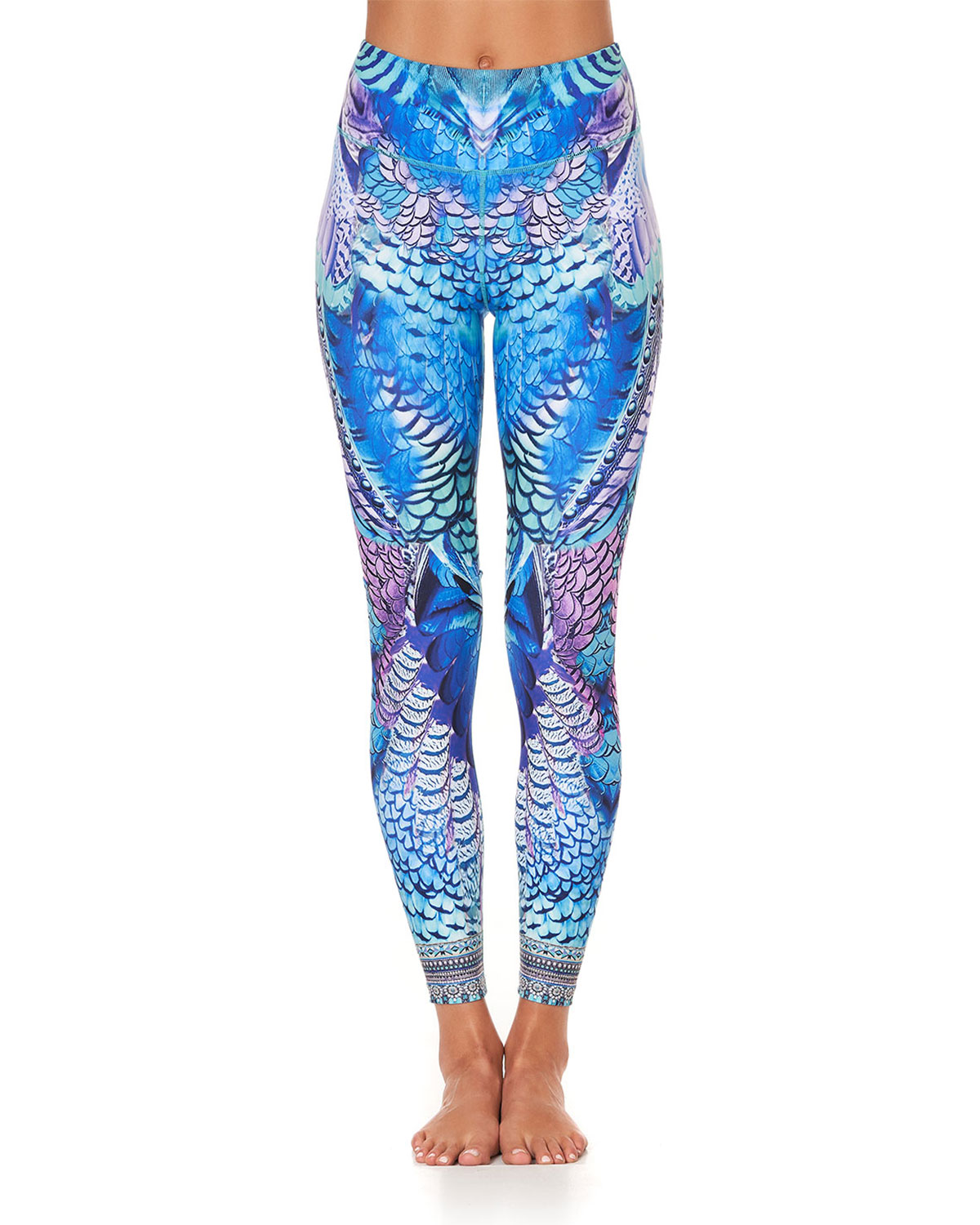 Camilla Jeans HIGH-RISE PRINTED ACTIVE LEGGINGS