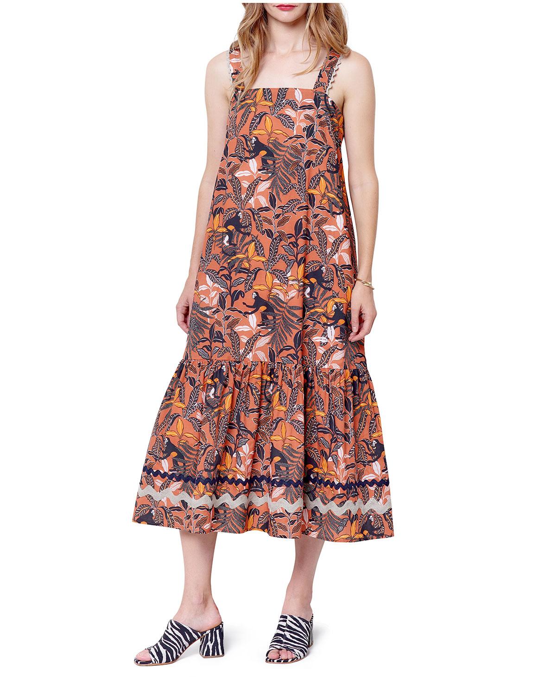 Martina Long Tiered Tank Dress