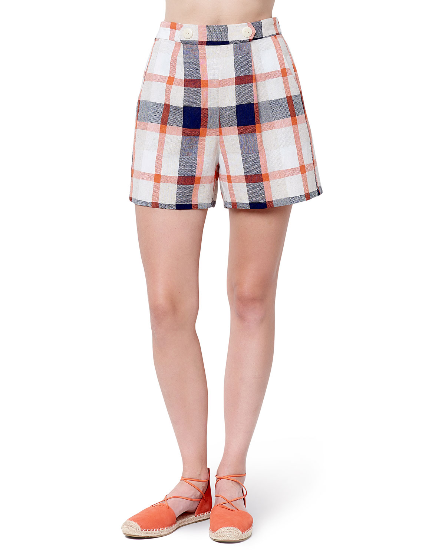 Jordan Plaid Shorts w/ Tab