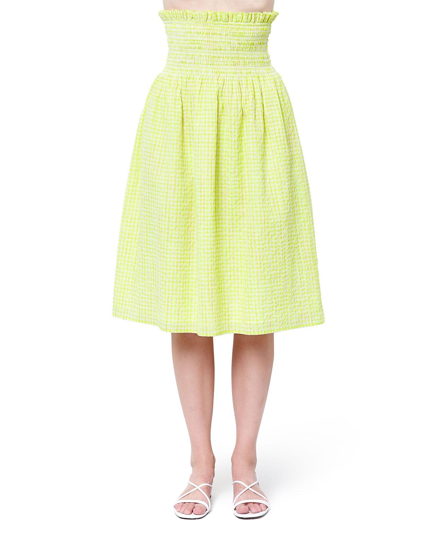 Saraphina Midi Smocked Skirt