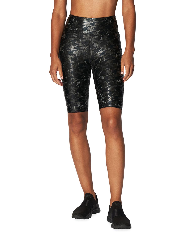 Marvel Shiny Camo Biker Shorts