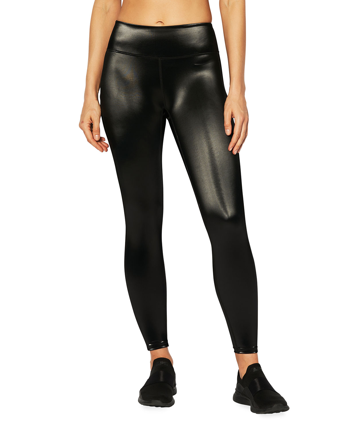 Heroine Sport DUTCHESS SATIN LEGGINGS