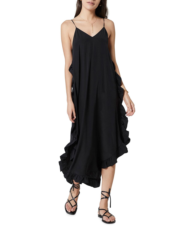 Hayworth Ruffle Midi Dress