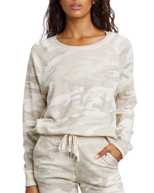 Rails Sweatshirts THEO CAMO-PRINT SWEATSHIRT