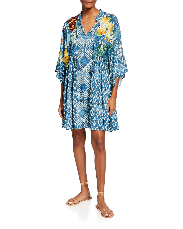 Plus Size Ciaga Short Coverup Dress