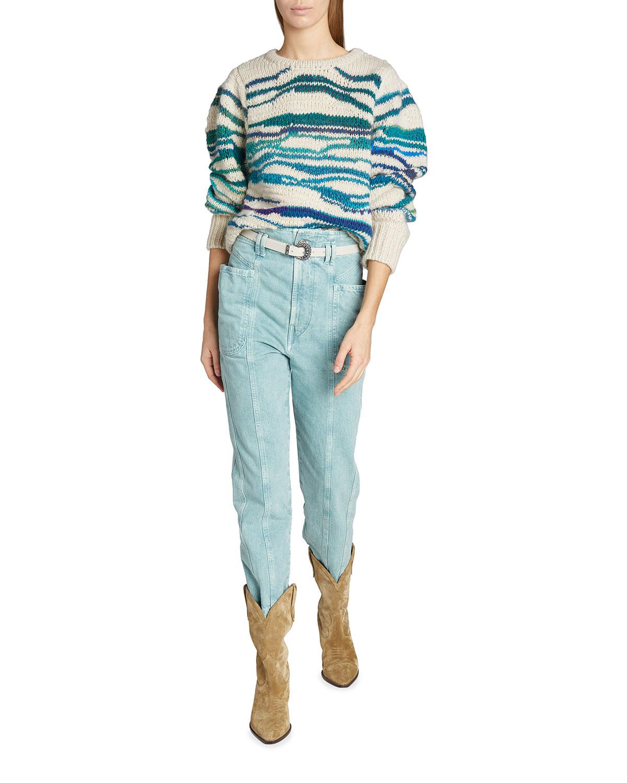 Serena Wool Crewneck Sweater