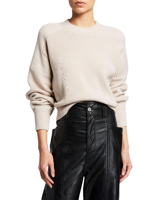Blow Knit Wool Sweater