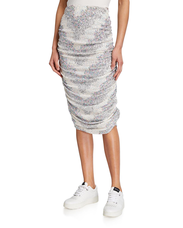 Rockstar Sequined Skirt