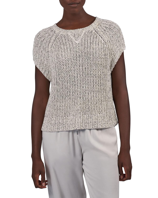 Chunky Mouline Raglan Sweater