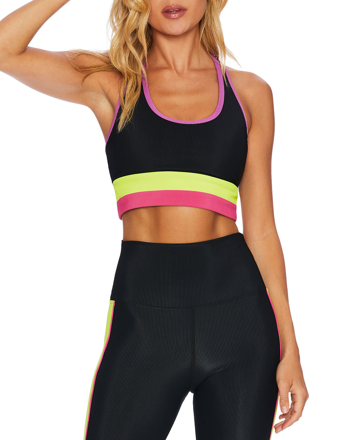 Beach Riot MARIANNE COLORBLOCK ACTIVE TOP