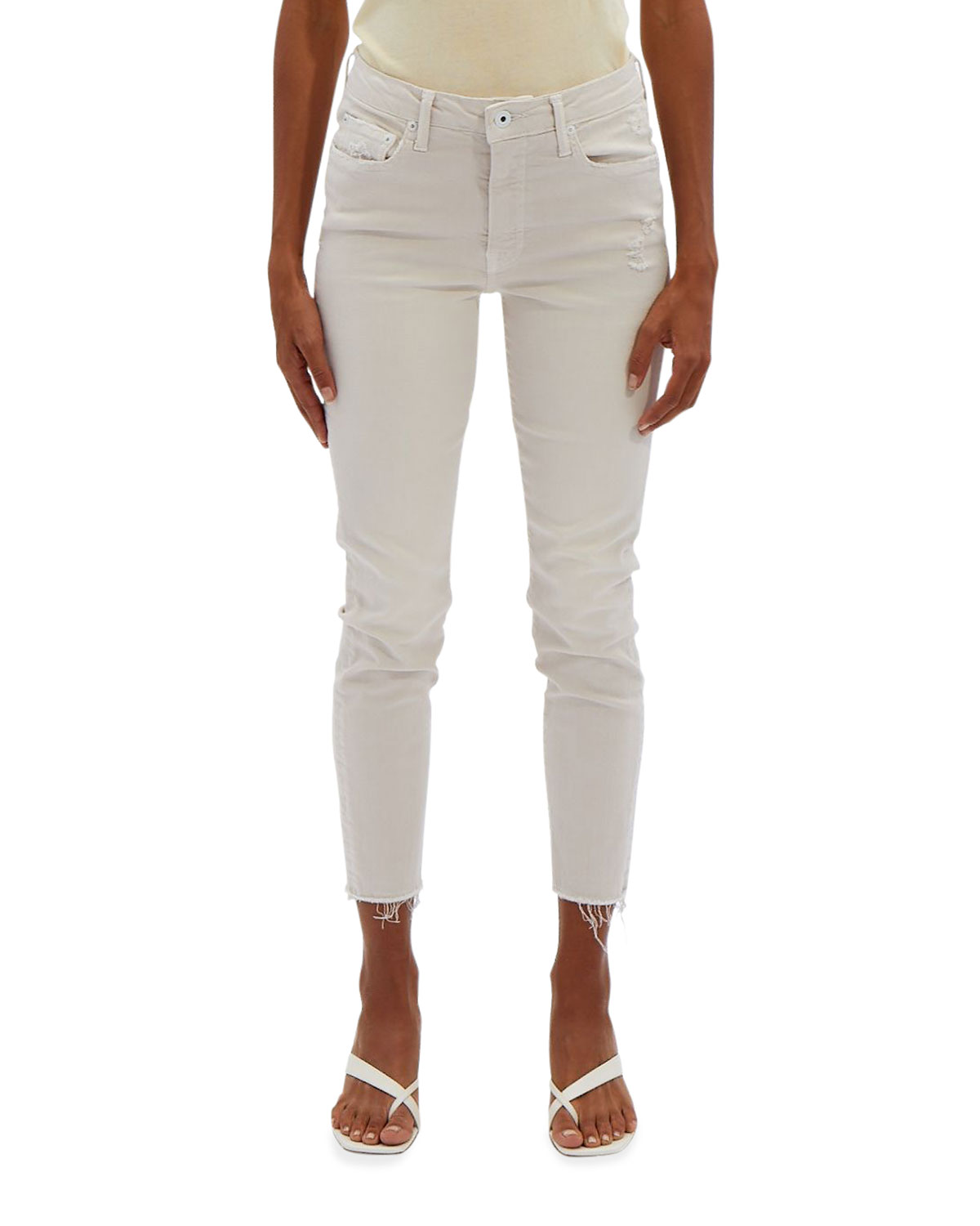 Costa Mid-Rise Crop Skinny Jeans
