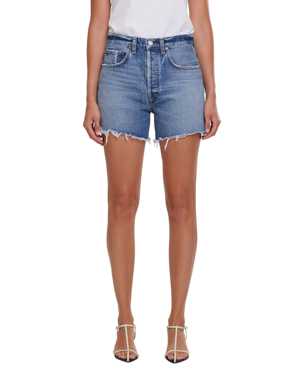 Riley Shorts with Frayed Hem