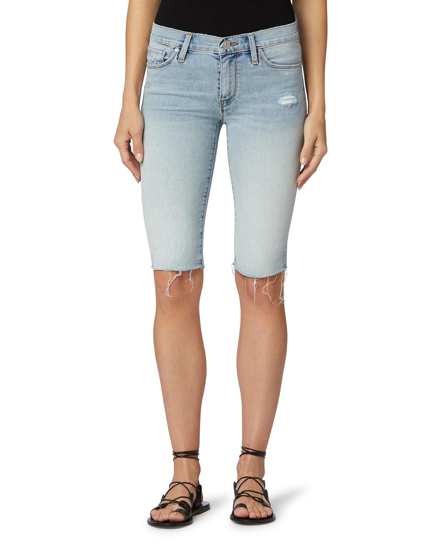 Amelia Cutoff Bermuda Shorts