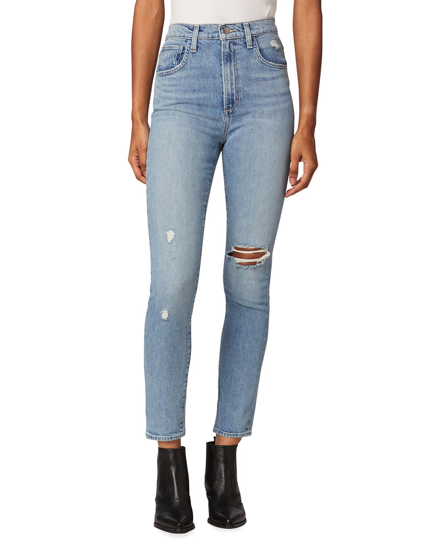 Joe's Jeans THE RAINE HIGH-RISE STRAIGHT JEANS