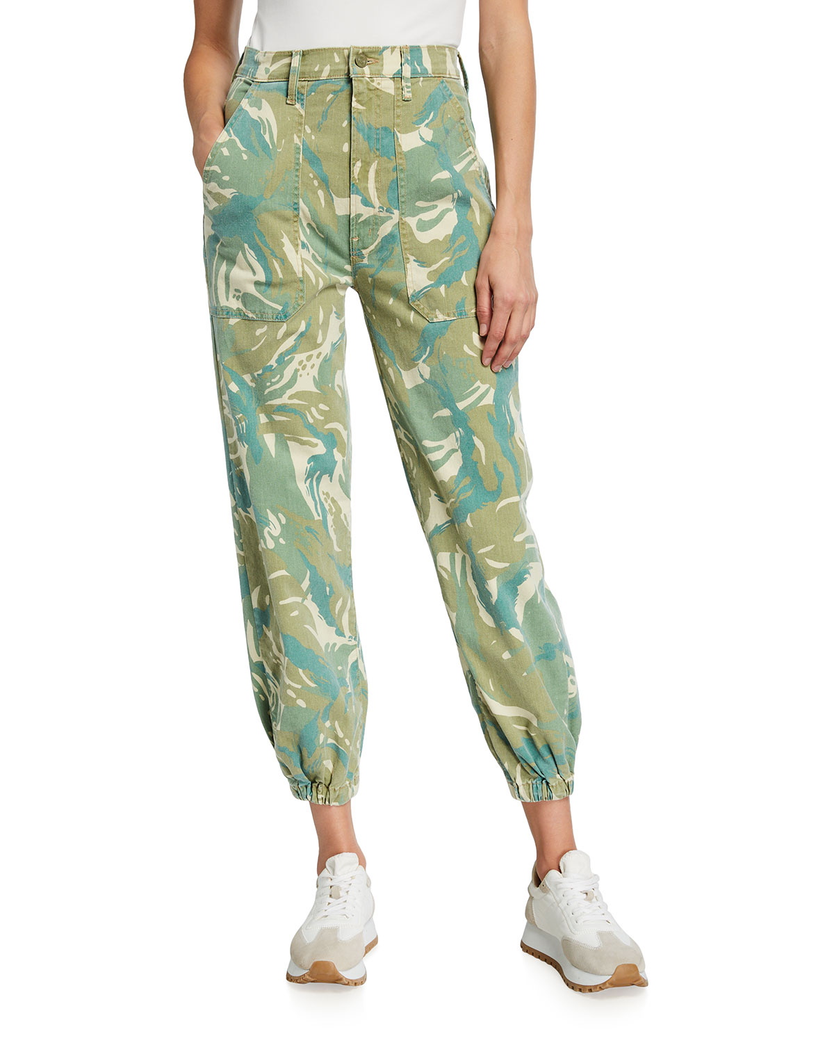 The Wrapper Patch Springy Ankle Pants
