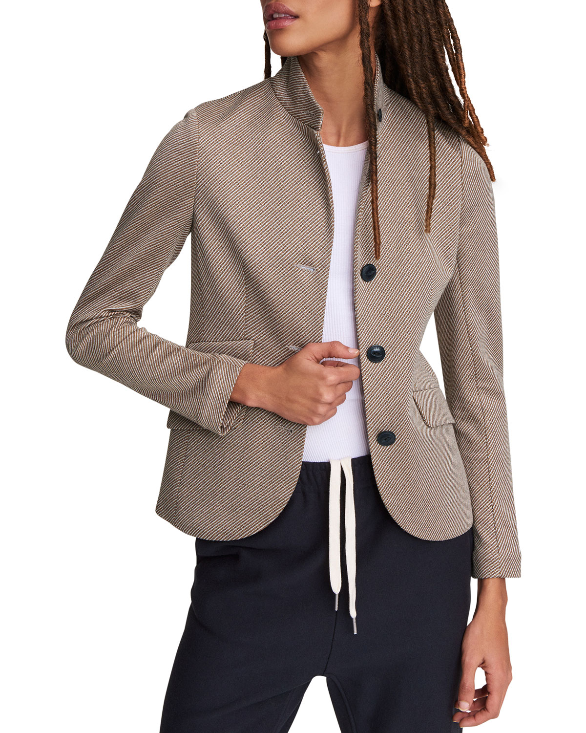 Rag & Bone SLADE STRIPED BLAZER
