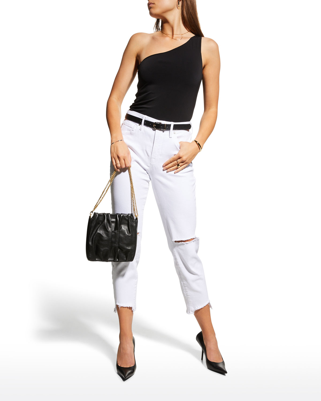 Good Girlfriend Straight-Leg Jeans
