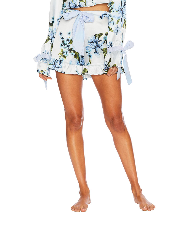 Aurora Floral Pajama Shorts