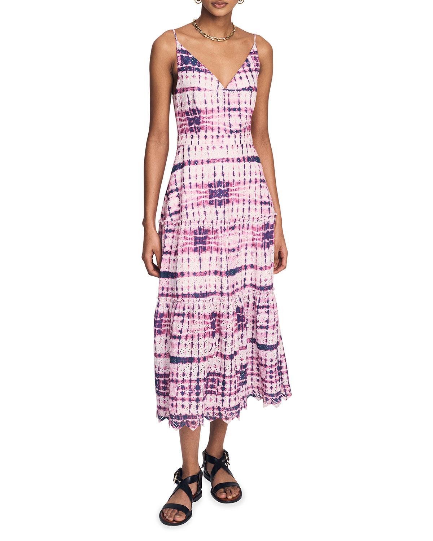 Samara Tiered Tie-Dye Cami Dress