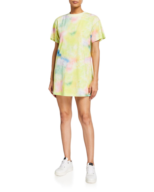 Garner Drop-Shoulder Boxy T-Shirt Dress