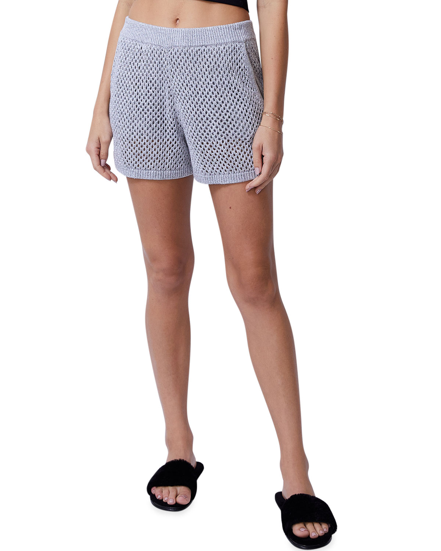 Open-Knit Shorts