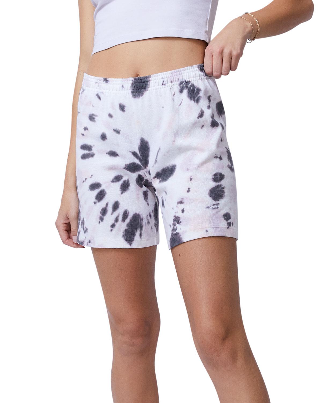 Kaleidoscope Tie-Dye Gym Shorts