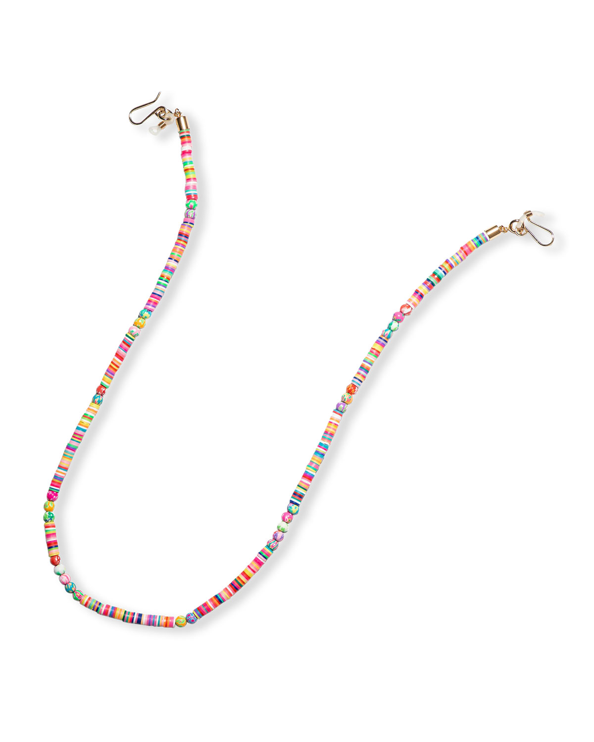 Bead and Disc Eyeglass/Mask Chain