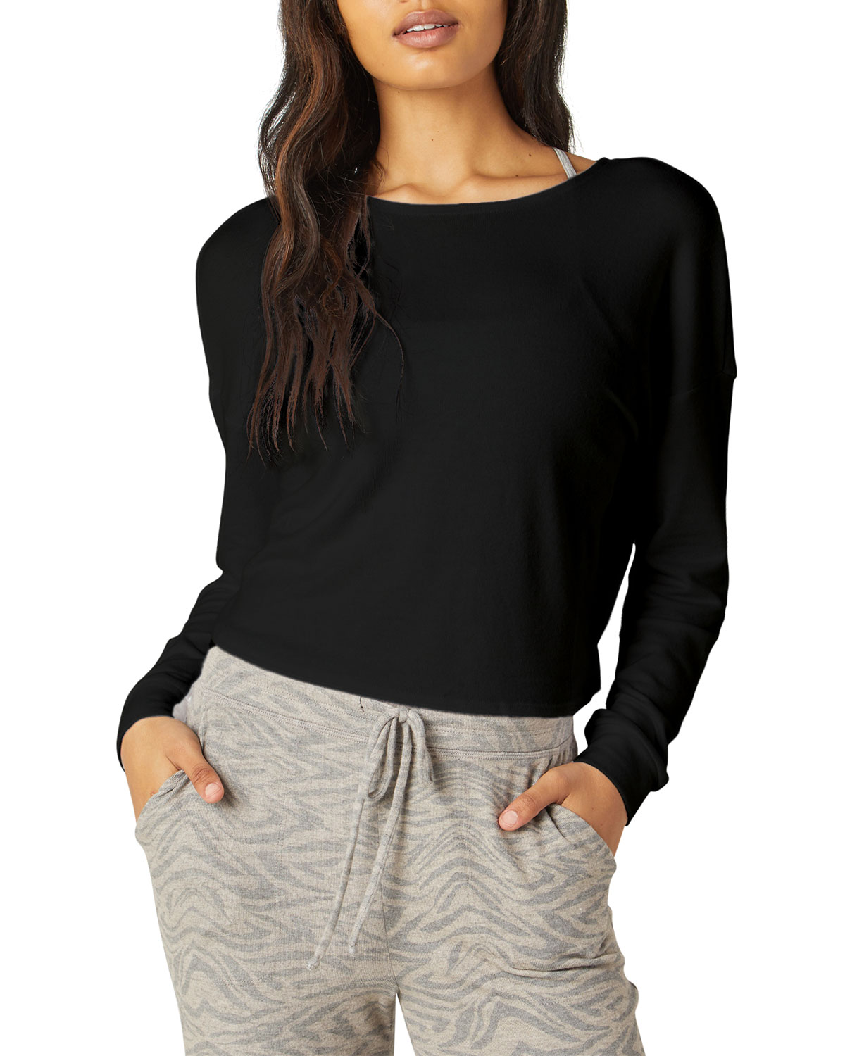 Do the Twist Cropped Pullover