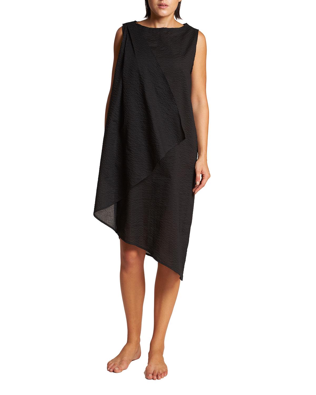 Careyes Asymmetric Coverup Dress