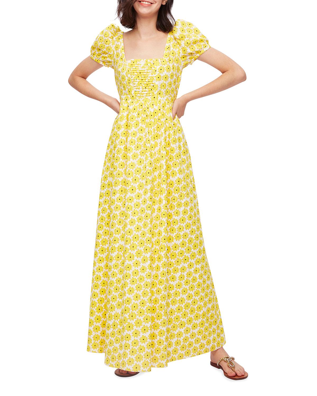 Poppy Printed Poplin Dress