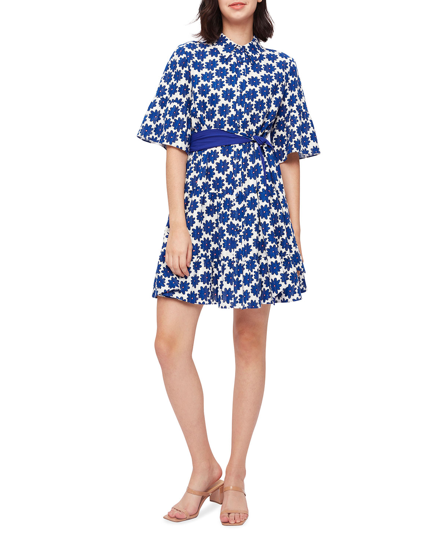 Beata Daisy Printed Mini Dress