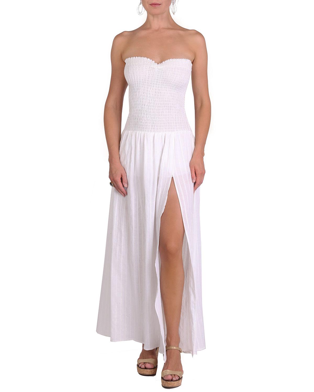 Morgan Strapless Coverup Maxi Dress