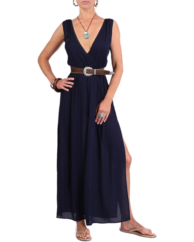 Meghan V-Neck Maxi Dress