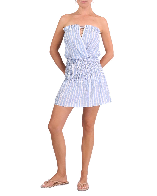Mila Rodanthe Stripe Mini Coverup Dress