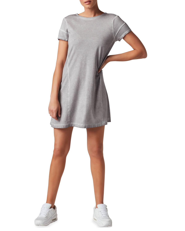 Vintage Wash Mini T-Shirt Dress