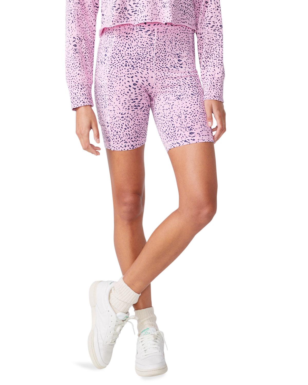 Mini Cheetah Biker Shorts