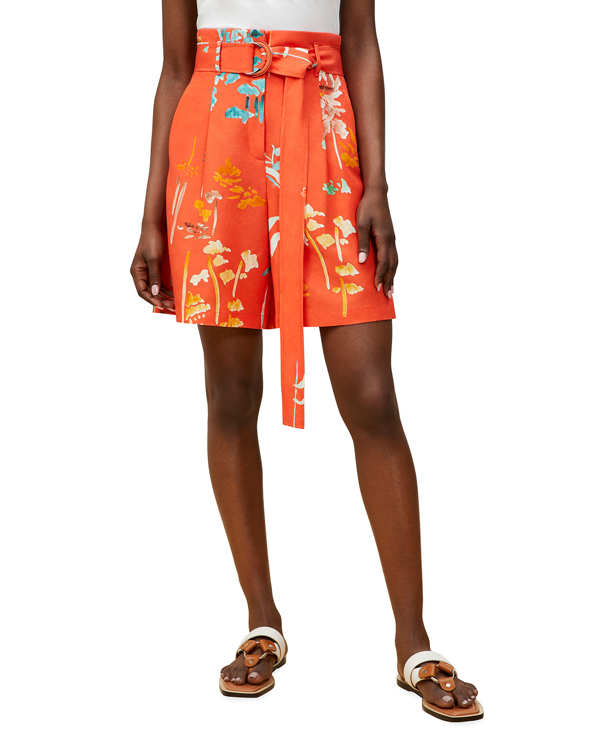 Degraw Belted Shorts