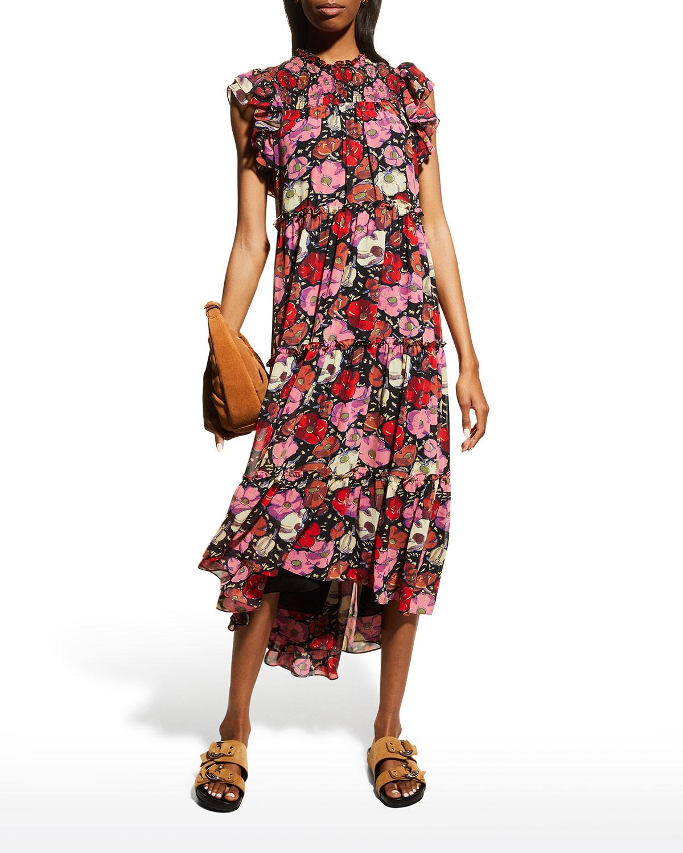 Ricki Floral Dress