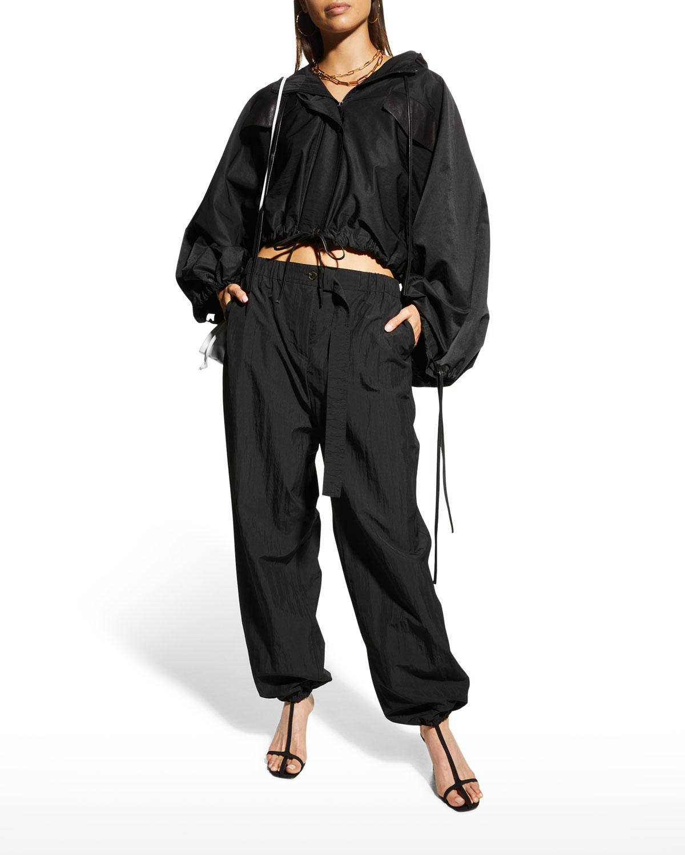 Jira Tech Blouson-Sleeve Jacket