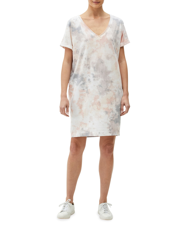 Cara Printed Mini Tee Dress