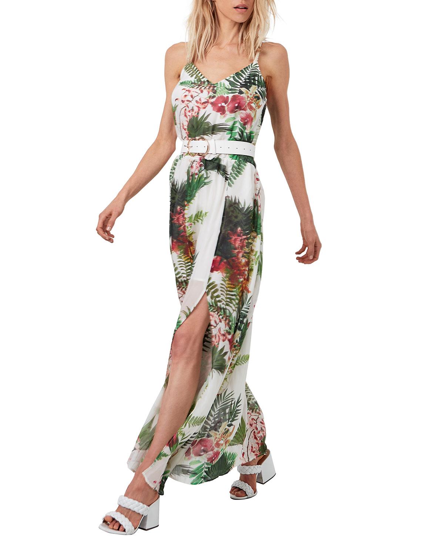 Goddess Maxi Floral Dress